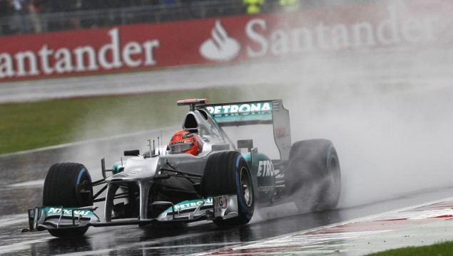 Mercedes AMG Petronas at 2012 British Grand Prix