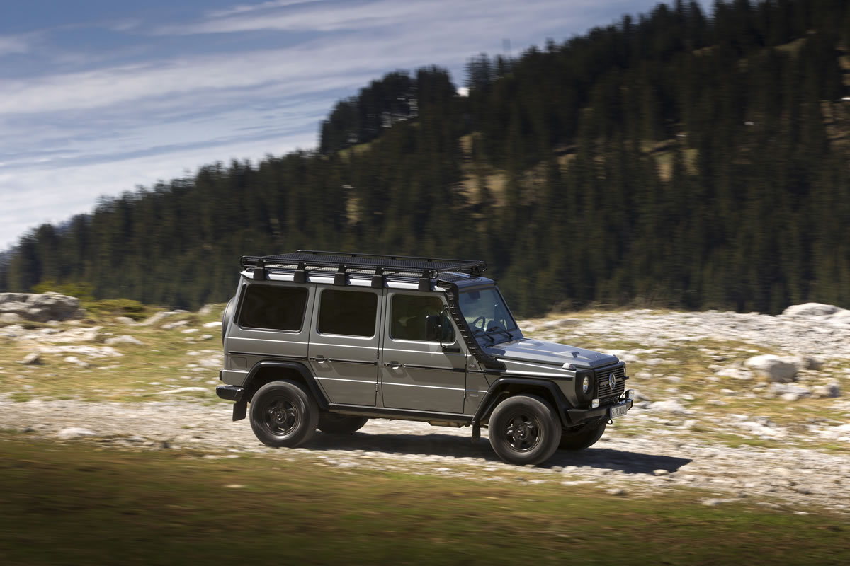 Mercedes G-Class emergency service vehilcle