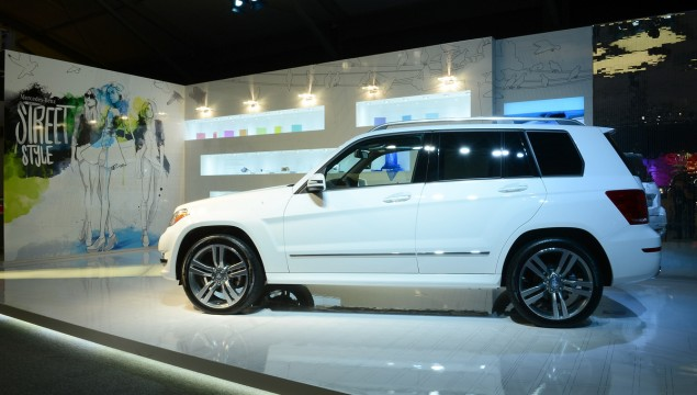 2013 GLK On Display at Mercedes-Benz Fashion Week
