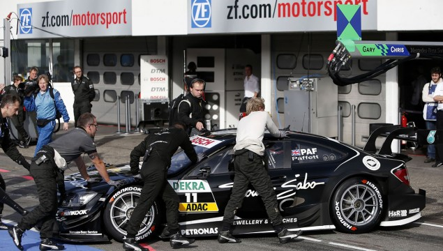 Gary Paffett Second at Hockenheim and Runner-Up in 2012 DTM Season