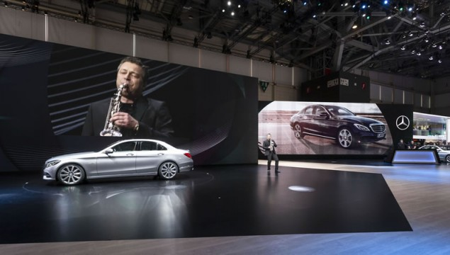European Premiere of the New Mercedes C-Class