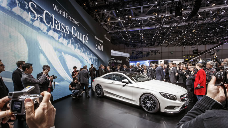 The new S-Class Coupé stands at the very pinnacle of our product portfolio and is a further milestone in our luxury-class offensive