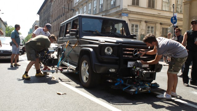 Mercedes-Benz G-Class A Good Day to Die Hard