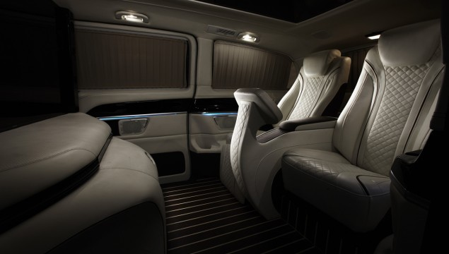HQ Custom Design: Luxury Van