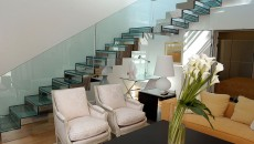 Hotel Hermitage Monte Carlo duplex apartment stairs