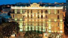 Hotel Hermitage Monte Carlo Exterior Night