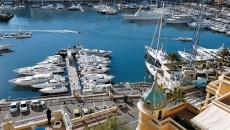Hotel Hermitage Monte Carlo View of Monaco Harbour