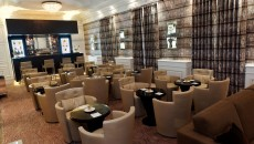 Hotel Hermitage Monte Carlo Crystalbar Seating Overview