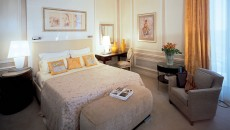 Hotel Hermitage Monte Carlo Suite with Gold Accents