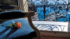 Hotel Hermitage Monte Carlo Balcony Overlooking Monaco Harbour