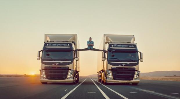 Jean Claude Van Damme Epic Truck Commercial