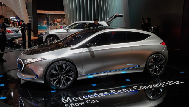 Mercedes-Benz EQ S Electric Sedan