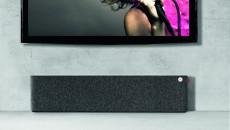 Libratone Lounge slate grey under television