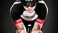 Louis Garneau VORTTICE Aero Helmet front view