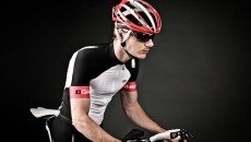 Louis Garneau Quartz Helmet front and side view