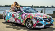 "Mara Hoffman Receives ""Mercedes-Benz Presents"" Title"