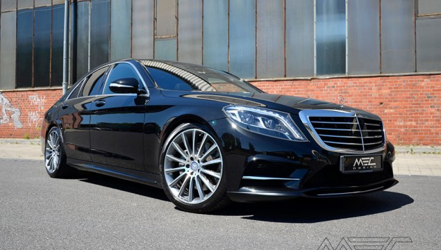 MEC Design bodykit for the W222 S-Class
