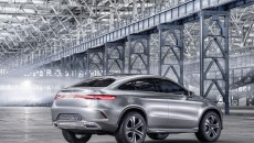 Mercedes-Benz Concept Coupe SUV Rear