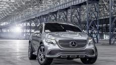 Mercedes-Benz Concept Coupe SUV Emblem