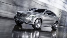 Mercedes-Benz Concept Coupe SUV Driving