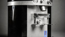 Mahlkonig K30 Vario single espresso grinder left front view closeup