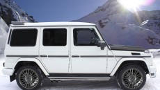 Mansory 2013 Mercedes-Benz G-Class side exterior