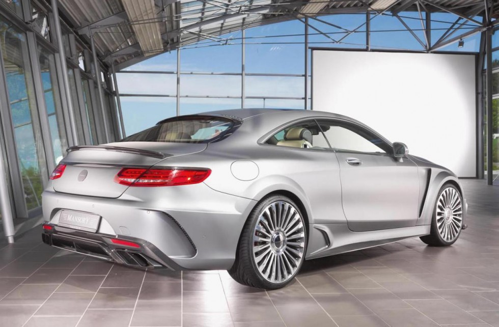 Mansory's S63 AMG Coupe Sprints 0-62 MPH in a Mere 3 3