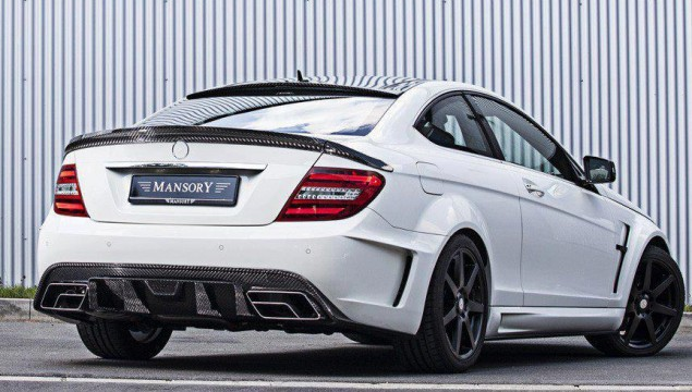 Mercedes C-Class Coupe with Wide Body Kit by Mansory