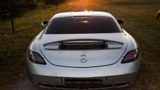 2012 Mercedes SLS 63 AMG McChip-DKR MC700 rear bumper
