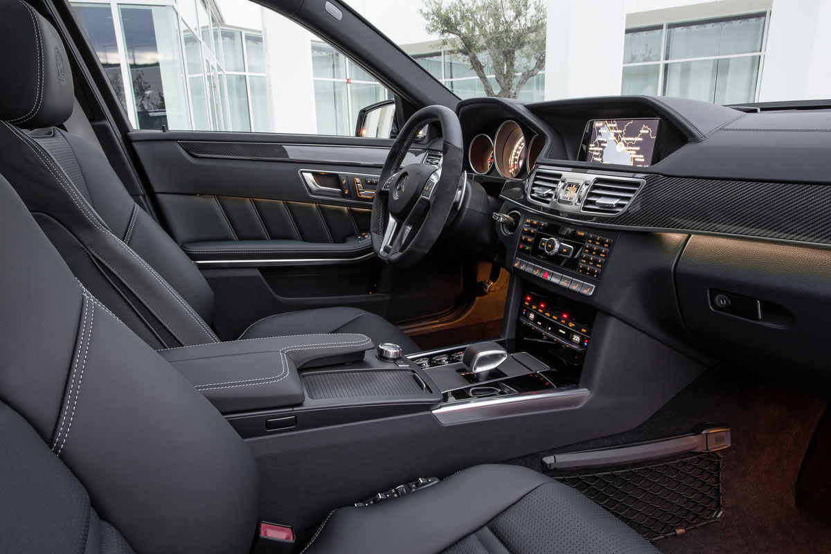 2014 Mercedes E-Class Wagon and Sedan Interior