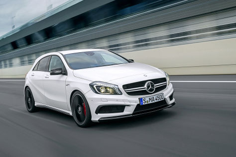 Mercedes A45 AMG First Official Photo