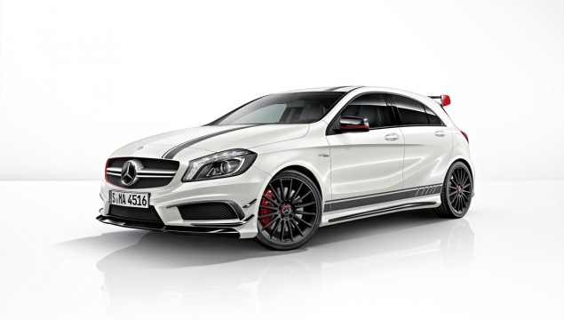 Mercedes A45 AMG Abduction Video