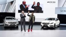 Mercedes A45 AMG Geneva Motor Show Usher Raymond