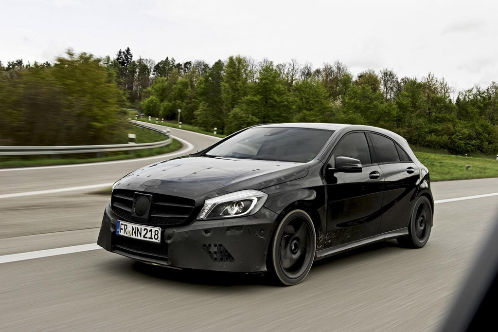 Mercedes A45 AMG Teaser Photo and First Details Photo Gallery
