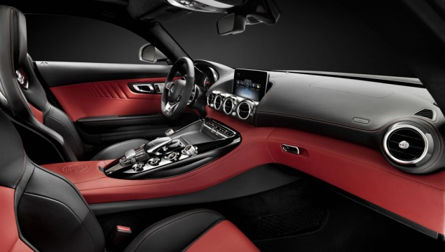 Mercedes AMG GT Interior Revealed