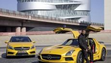 Usher Raymond Mercedes-Benz AMG A45 SLS