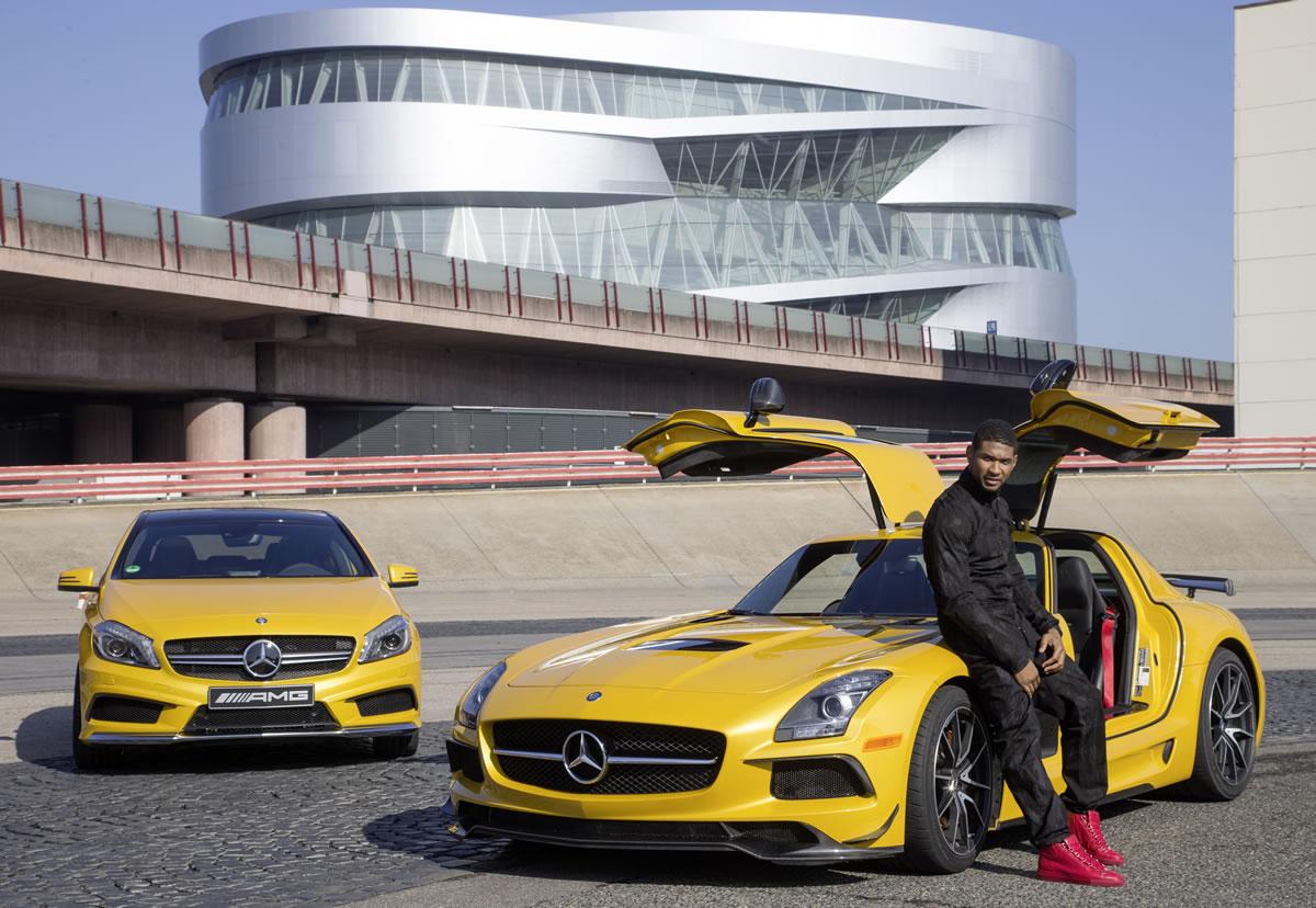 Usher Raymond Mercedes-Benz AMG 2