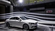 Aerodynamic optimisation, taking the Mercedes-Benz CLA 180 BlueEFFICIENCY Edition as an example