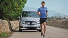 Ironman and Mercedes-Benz