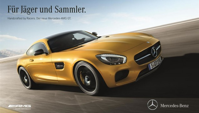Mercedes-AMG GT Ad Campaign