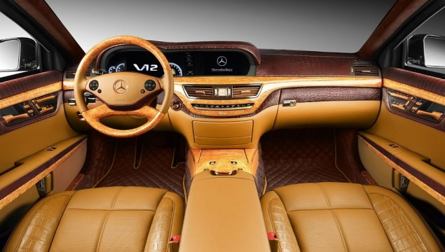 Mercedes-Benz S600 Becomes a Luxurious Guardian by Topcar