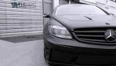 Mercedes CL500 Matte Black Edition by Famous Parts