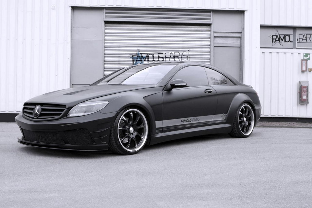 Mercedes CL500 Matte Black Edition by Famous Parts 4