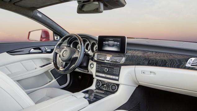 Mercedes-Benz CLS Interior Photos