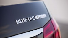 2014 Mercedes-Benz E-Class Sedan bluetec badge