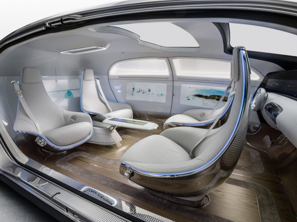 The Mercedes-Benz F 015 Luxury in Motion