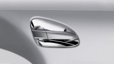 GL-Class accessories: door handle inserts, 4-piece set, high-gloss chromium-plated.