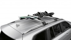 Perfectly tailored to the body of your vehicle: Alustyle Easy-Fix II basic carrier bars for many Mercedes-Benz transport solutions, innovative quick-grip mounting, lockable. Tested according to strict Mercedes-Benz standards