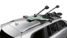 New Alustyle ski and snowboard rack