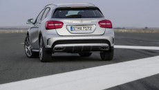 Mercedes GLA45 AMG Rear